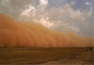 جولانِ طوفان شن در کرمان