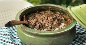 گمج کباب یکی از خورش های معروف و لذیذ گیلانی