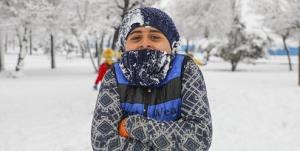 سرمای سوزان در استان همدان