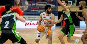 ستاره ایرانی بهترین بازیکن ماه دسامبر لیگ بسکتبال آلمان شد