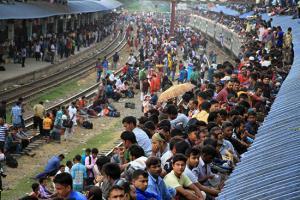 وضعیت عجیب و غریب و حمل و نقل در بنگلادش