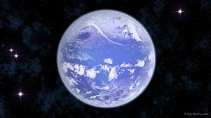 زمین در عصر پرکامبرین از اقیانوس جهانی پوشیده شده بود