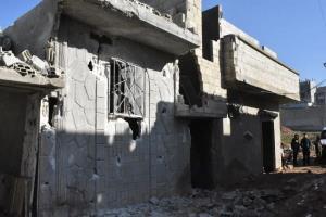 کشته شدن اعضای یک خانواده در حماه توسط ارتش اسرائیل