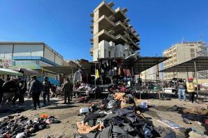 اظهارنظر سرپرست وزارت خارجه آمریکا در مورد انفجارهای بغداد