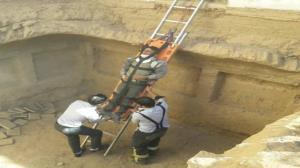 تکرار حادثه سقوط از ساختمانهای در حال ساخت یزد