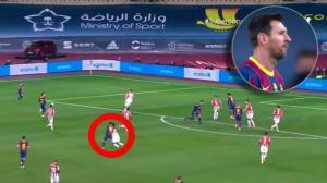 مسی بازی با الچه را از دست داد