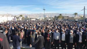 تشییع پیکر دیپلمات ایرانی در فارس