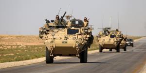ششمین کاروان نظامی آمریکا در عراق مورد هدف قرار گرفت