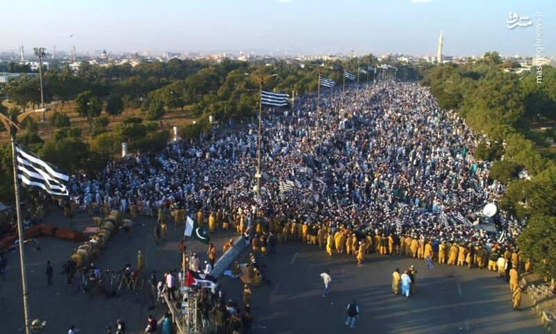تظاهرات میلیونی پاکستانیها در حمایت از فلسطین