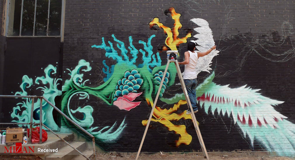 دیوار نگارههای چینی