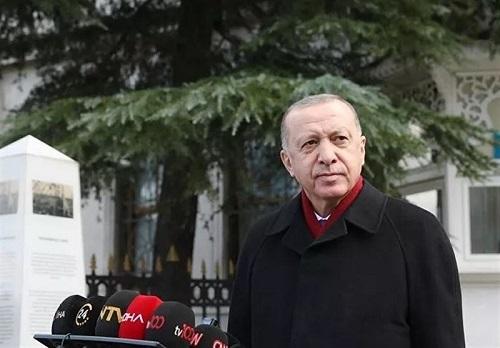 اردوغان: ممکن است ناگهان شبانه به پ.ک.ک در سنجار حمله کنیم