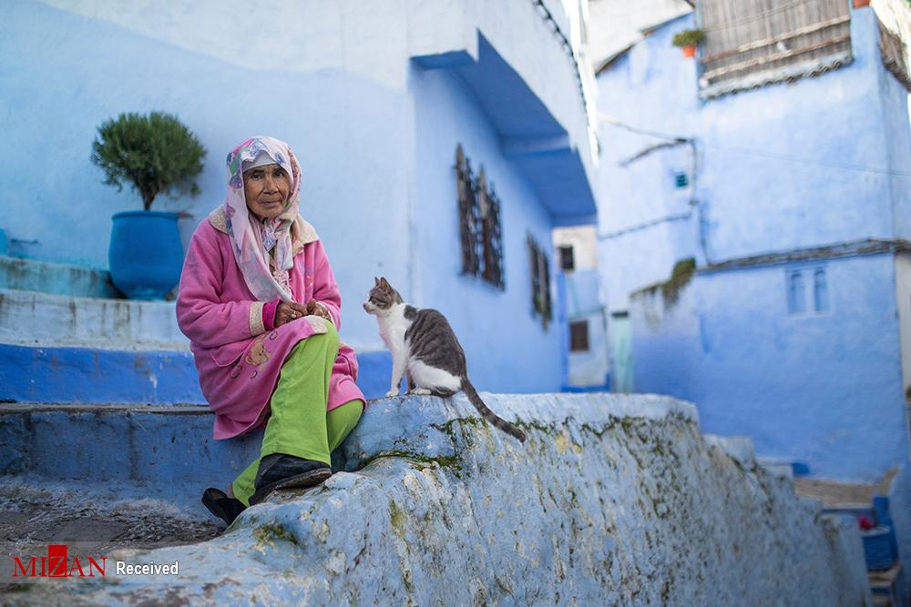 شهر زیبای مروارید آبی در مراکش