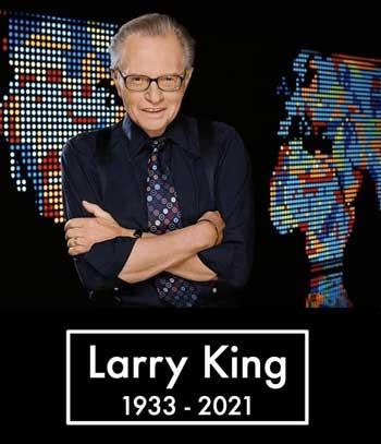 «لری کینگ»، مجری سرشناس آمریکایی درگذشت