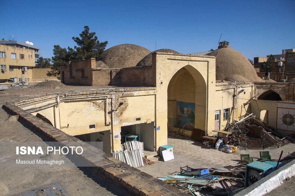 عکس/ آزادسازی کاروانسرای «شاه عباسی» سمنان