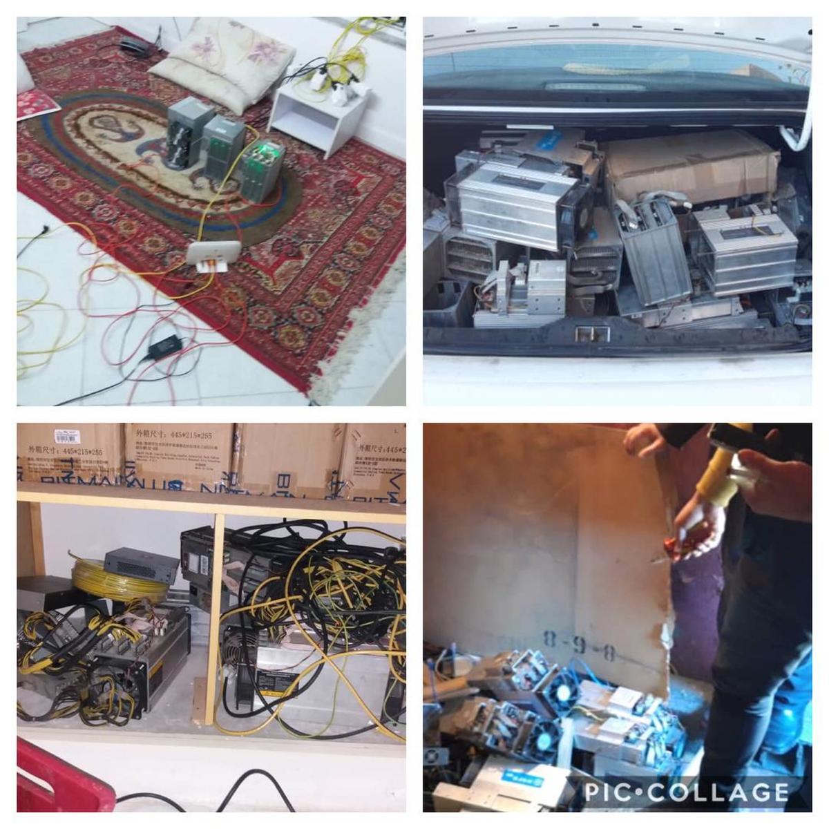 کشف مراکز جدید استخراج رمز ارزهای غیرمجاز در غرب مازندران