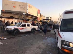 انفجارهای انتحاری در بغداد فرجام تضعیف حشدالشعبی