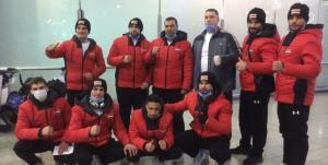 تیم ملی بوکس سوریه وارد ایران شد