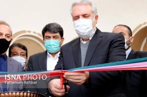 عکس/ افتتاح یک اقامتگاه سنتی در مهریز با حضور وزیر گردشگری