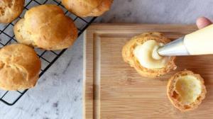 طرز تهیه کرمفیل خانگی برای انواع کیک و شیرینی و دسر
