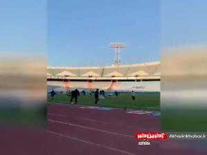 تصاویری از ورزشگاه آزادی قبل از بازی استقلال