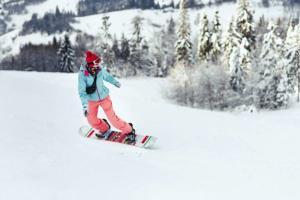 لحظات هیجان انگیز اسکی روی برف