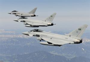 بمباران صعده یمن از سوی جنگندههای ائتلاف سعودی