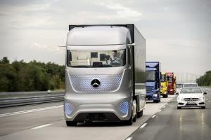 کامیون های مرسدس بنز در آینده ای نزدیک