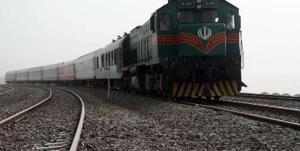 طوفان شن، قطار زاهدان- کرمان را از ریل خارج کرد