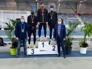 سریعترین مرد ایران قهرمان شد