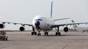کاهش دید افقی و اختلال در پروازهای فرودگاه بینالمللی بندرعباس