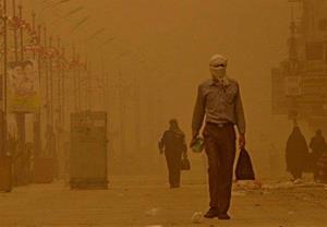 غلظت ذرات غبار در هوای زاهدان به ۱۸ برابر حد مجاز رسید