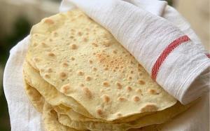 پخت نان لواش خانگی 10دقیقه ای و دلچسب بهتر از بازاری ها