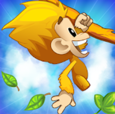 Benji Bananas؛ میمون پرجنب و جوش را به موزها برسانید