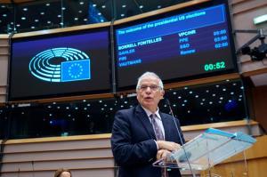 واکنش اتحادیه اروپا به تظاهرات ضد دولتی روسیه