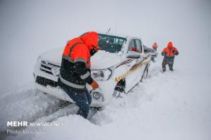 ١٩ استان درگیر برف، سیل و آبگرفتگی شدند