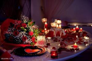 چگونه یک میز شام عاشقانه بچینیم؟