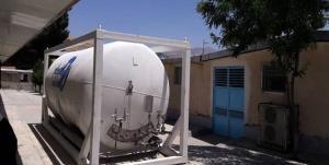 نصب دستگاه مخزن اکسیژن ۶ تنی در بیمارستان شهید بهشتی یاسوج