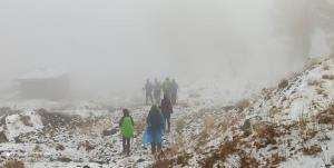 نجات کوهنورد گرفتار در ارتفاعات روستای «منجگان» بیرجند