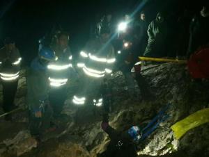گرفتار شدن  ۳ نفر در غار بابا احمد چالدران