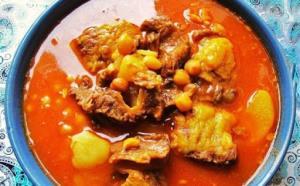 غذای اصلی/ طرز تهیه آبگوشت مرغ با لپه