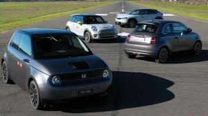 نبرد بزرگ بین هفت خودروی الکتریکی کوچک