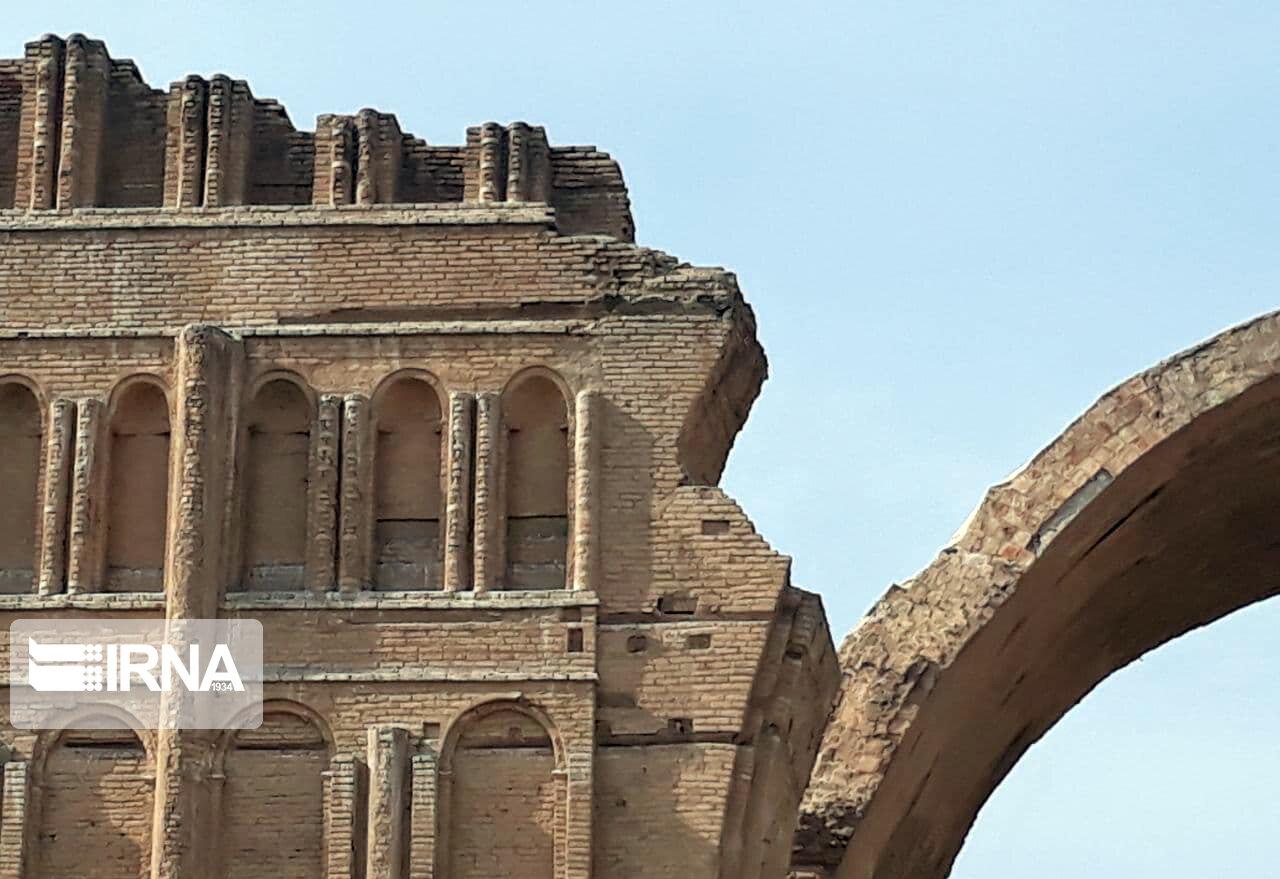 تخریب «طاق کسری» در بغداد