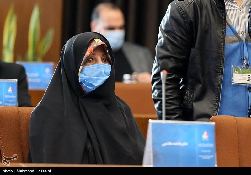 فاطمه هاشمی در مجمع عمومی کمیته ملی المپیک
