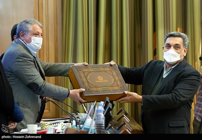 تقدیم لایحه بودجه ۱۴۰۰ توسط شهردار تهران