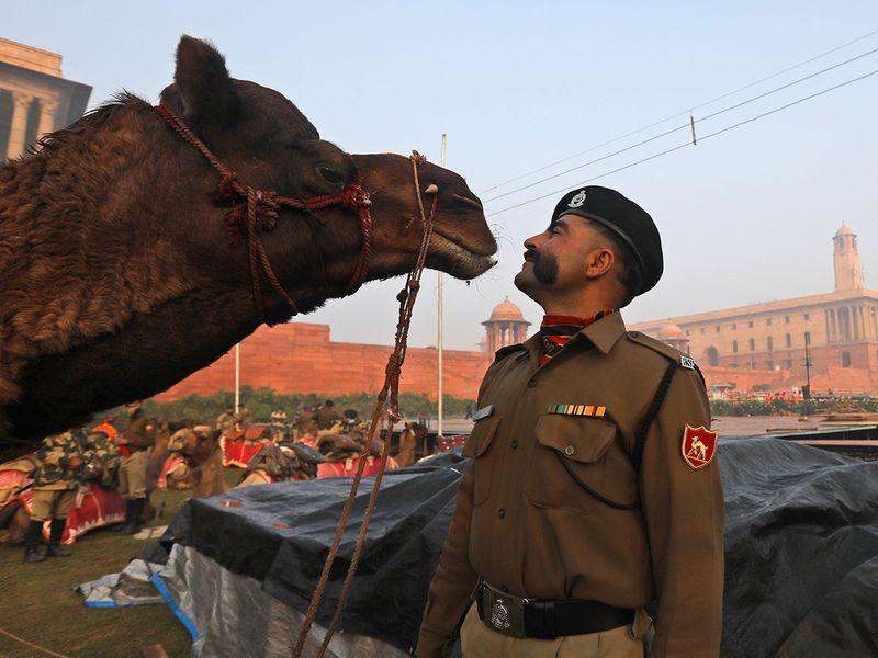 حاشیه های رژه روز ملی هند
