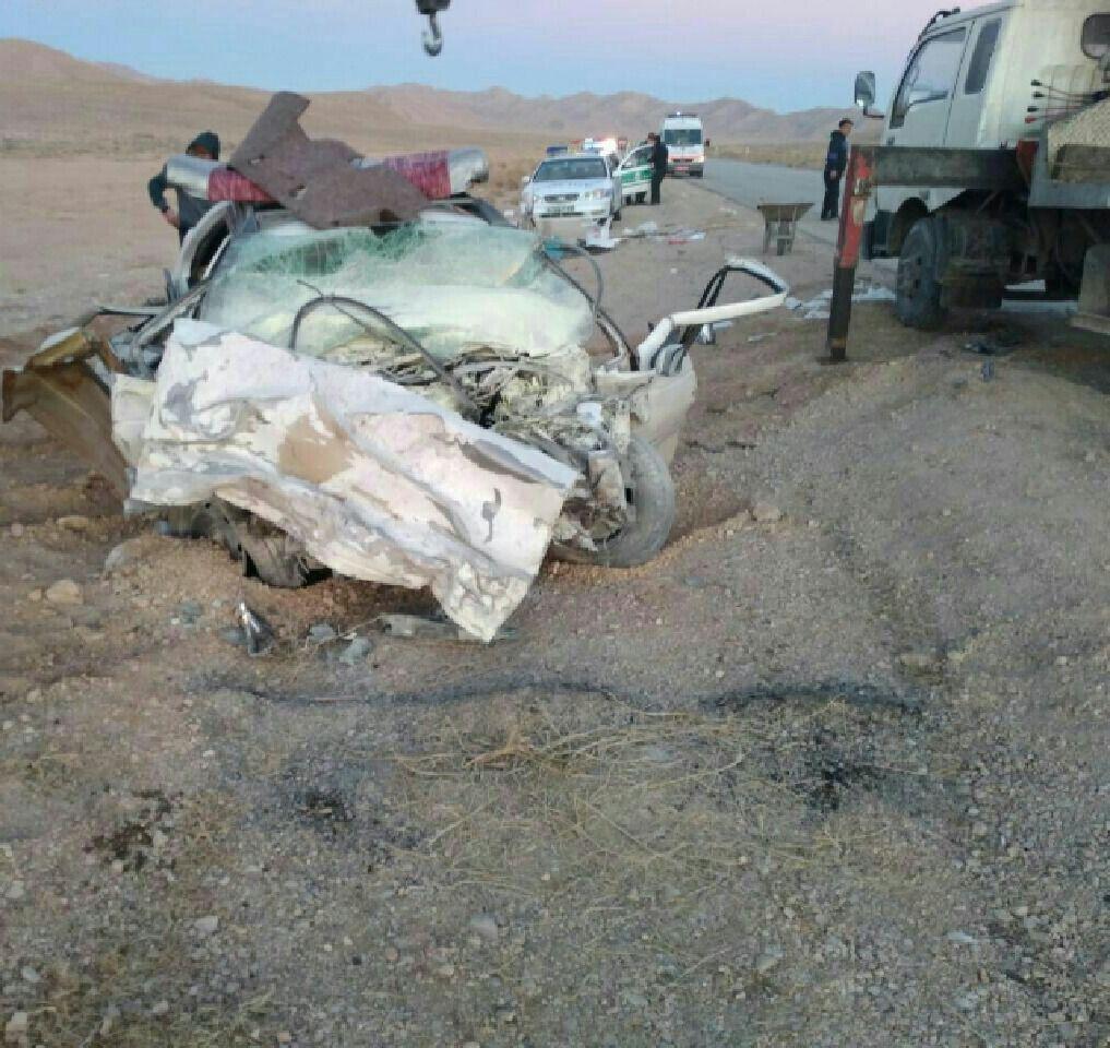 تصادف در محور گرمه ـ میامی ۳ کشته برجای گذاشت