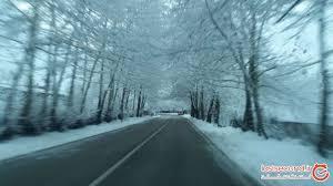 حال و هوای رویایی جاده عباس آباد به کلاردشت