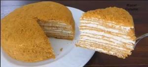 آموزش تهیه کیک عسلی روسی به روش ساده