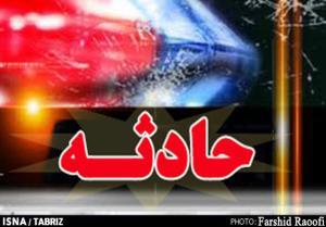 حادثه رانندگی در زنجان جان دختر جوان را گرفت