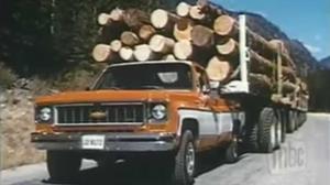 تبلیغ جنجالی پیکاپ شورلت در دهه 70!